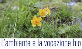 L'ambiente e la vocazione bio