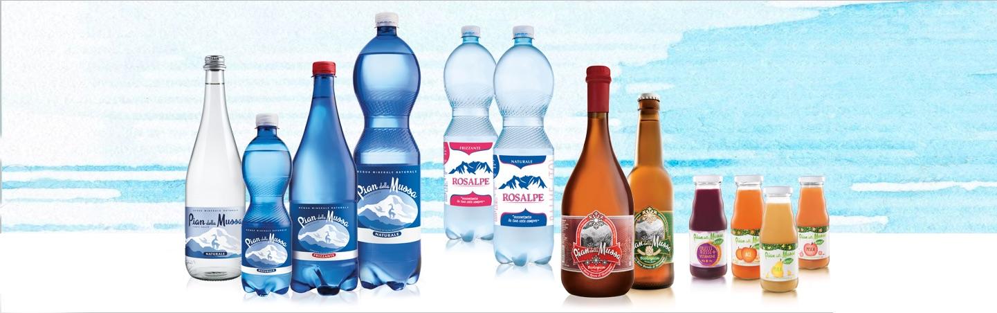 Prodotti Acqua Pian della Mussa